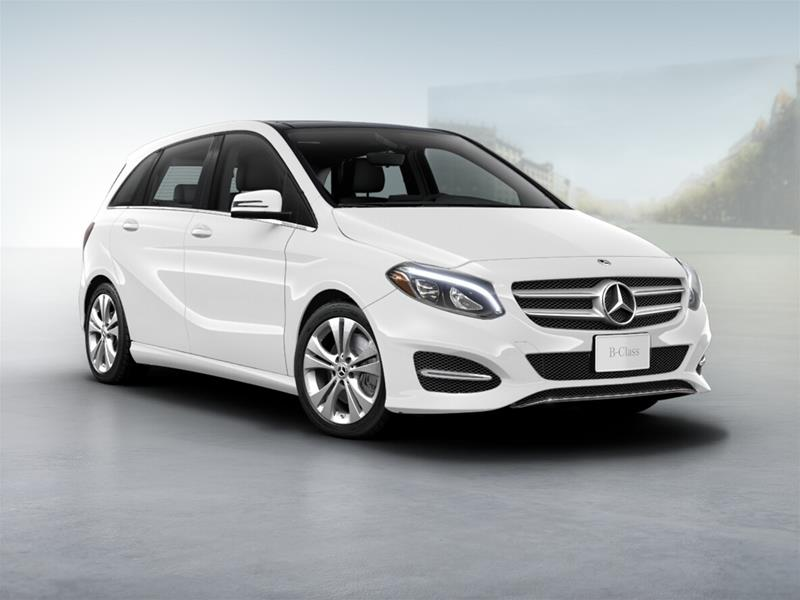 New 2018 mercedes benz b class b250 sports tourer for Mercedes benz c class service b
